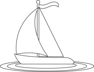 Yacht clipart water vehicle About of Black Pinterest Sailboat