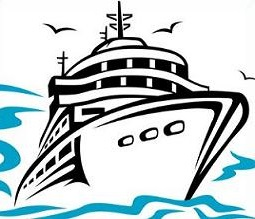 Floating clipart small boat Boat Free Clipart boat
