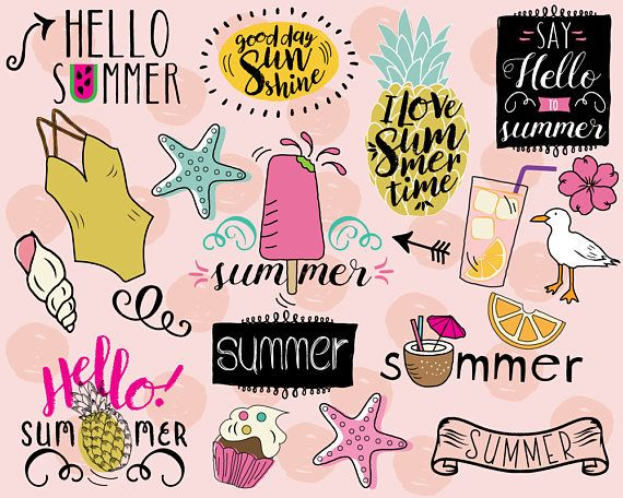 Floating clipart summer outing Clipart ideas beach Best 20+