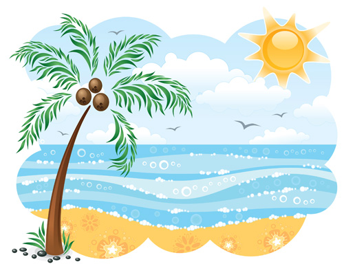 Floating clipart summer outing A a host fun can