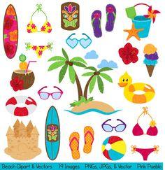 Floating clipart summer outing Pinterest [преобразованный] Clip Art DRINKS