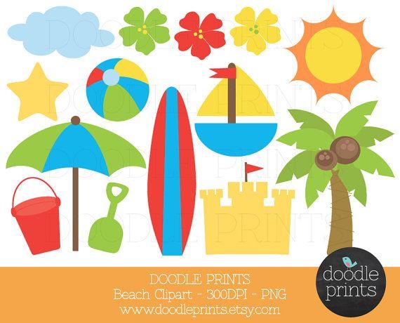 Scenery clipart ocean theme #15