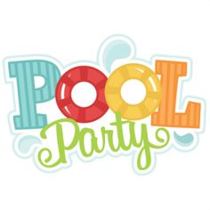 Background clipart pool party Free Time! clipart free clipart