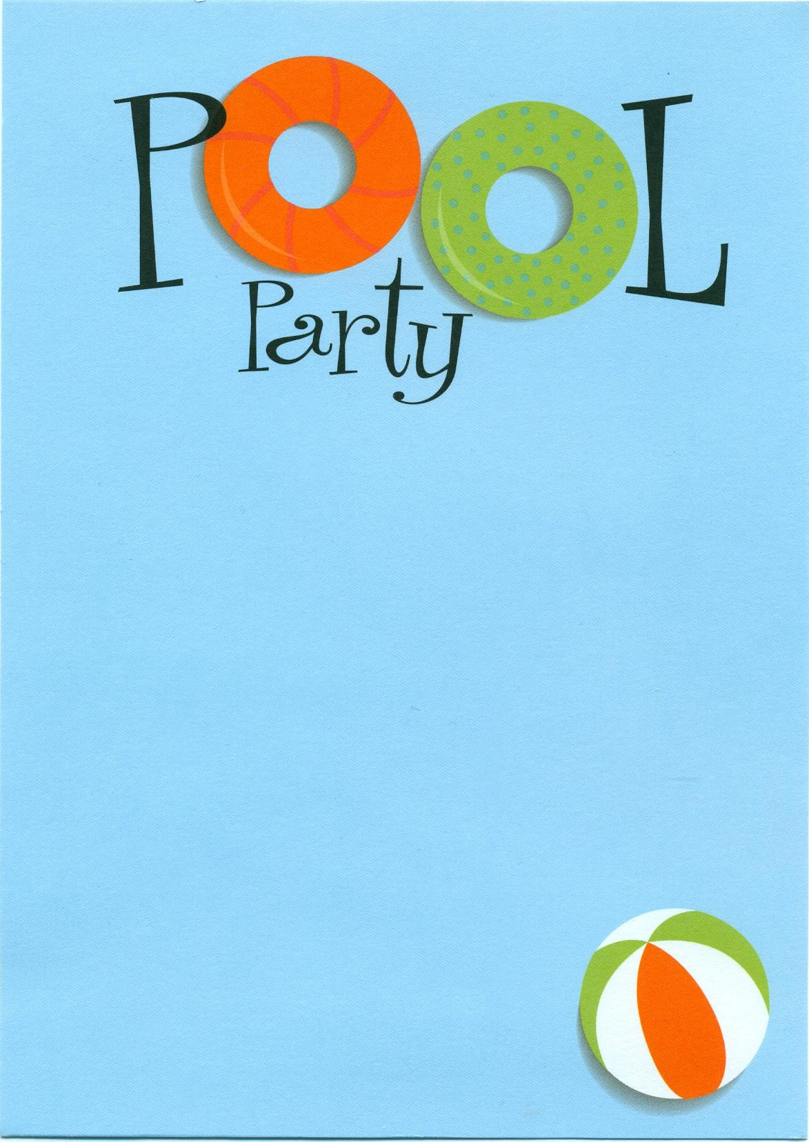 Background clipart pool party Clipartix Free pool Cliparting a