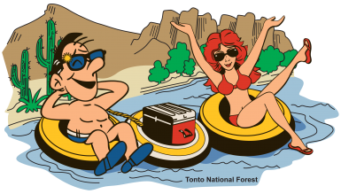 Floating clipart tubing (34+) River cartoon Clipart river