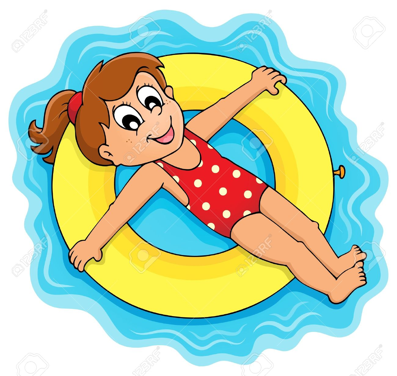 Floating clipart water play Summer – Art Fun Clip
