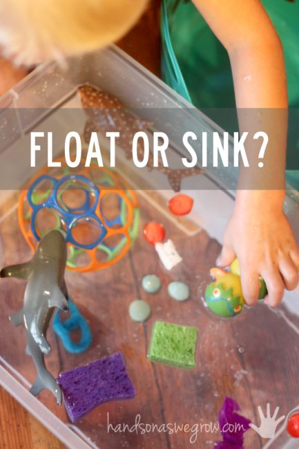 Floating clipart water play Float Science best Sink Does