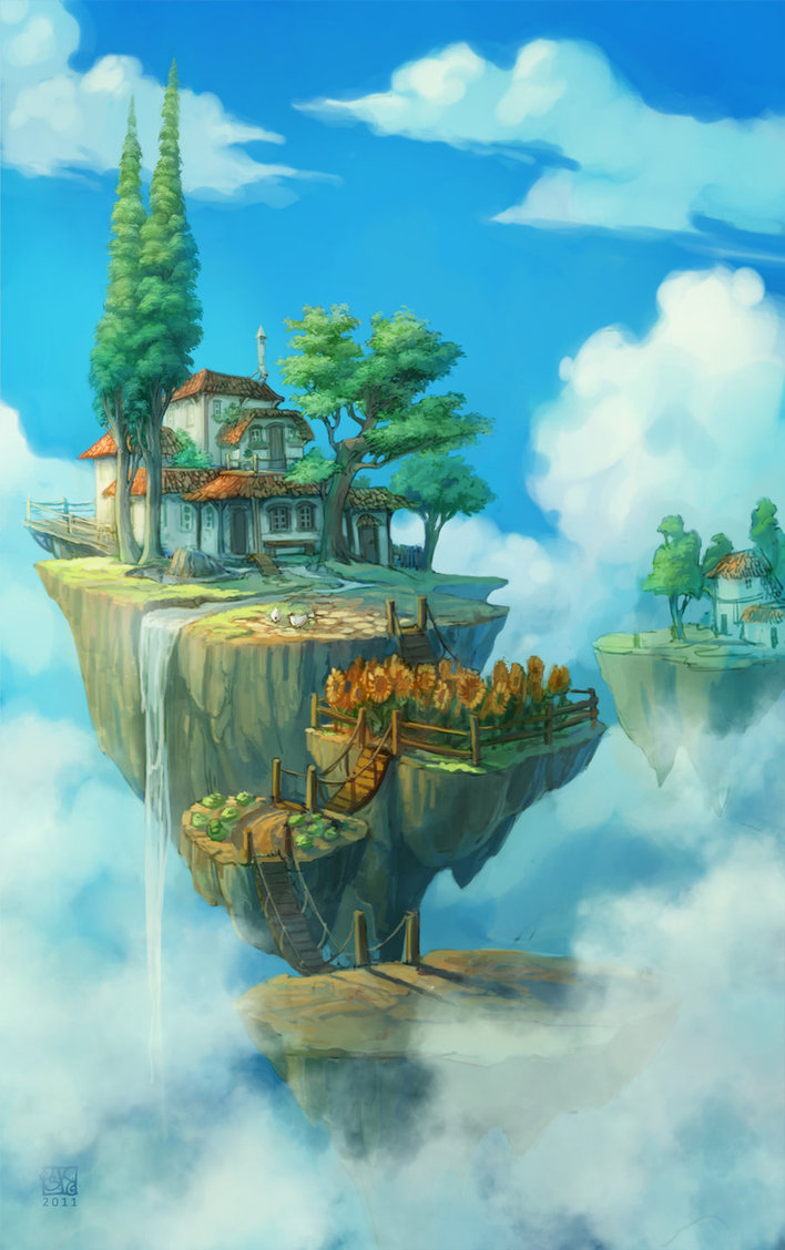 Floating Island clipart theme park Have in Pinterest rocks some