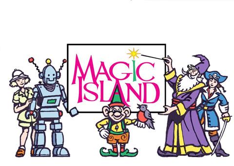 Floating Island clipart theme park Island Magic Portfolio Magic Theme