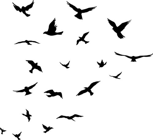 Flock Of Birds clipart Of photo#6 Birds Flock Flock