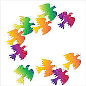 Flock Of Birds clipart Info colorful Images a Clipart