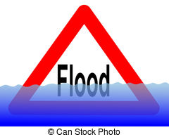 Flood clipart water rescue Clip and Flood sign flood