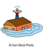 Flooded clipart #10
