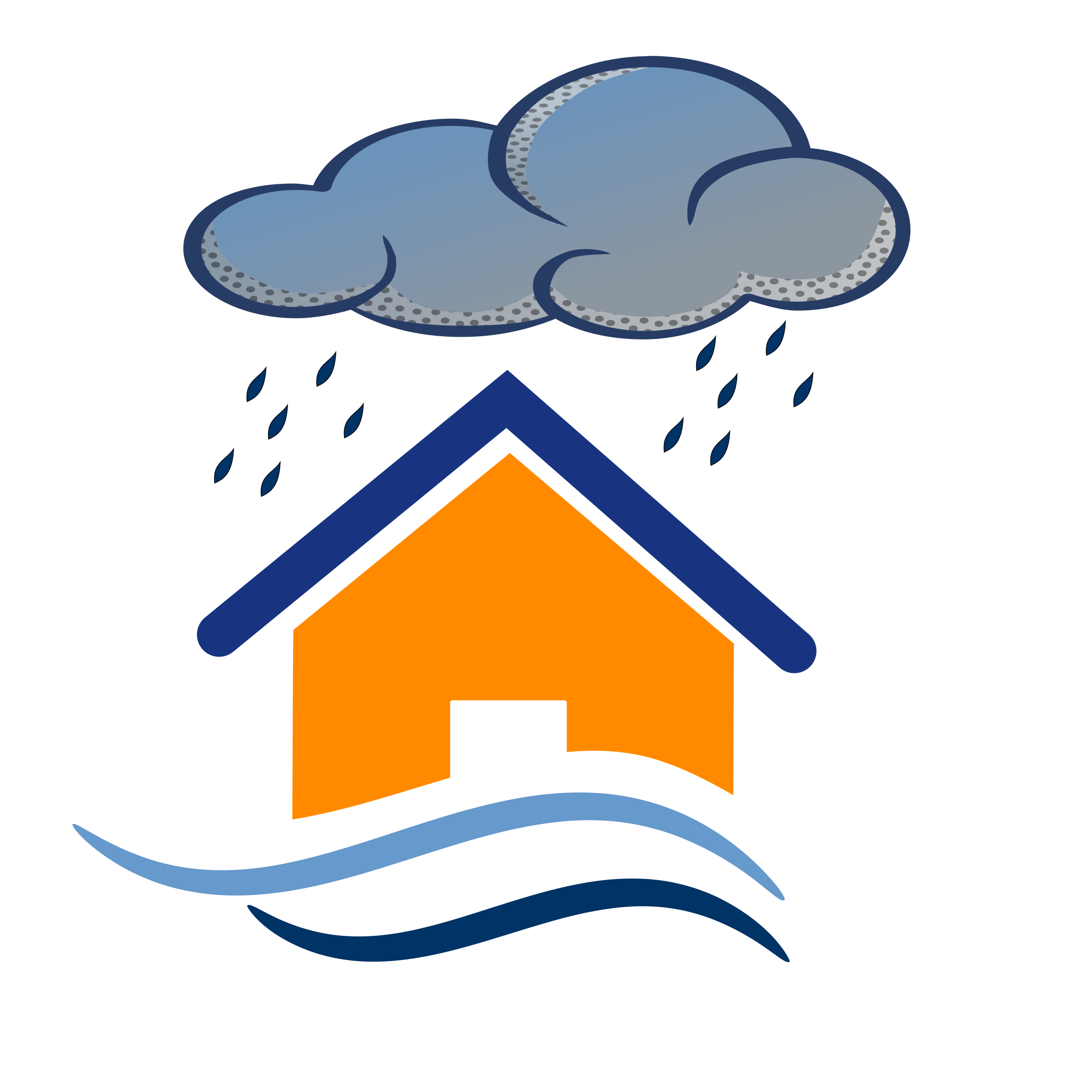 Places clipart flooded #10