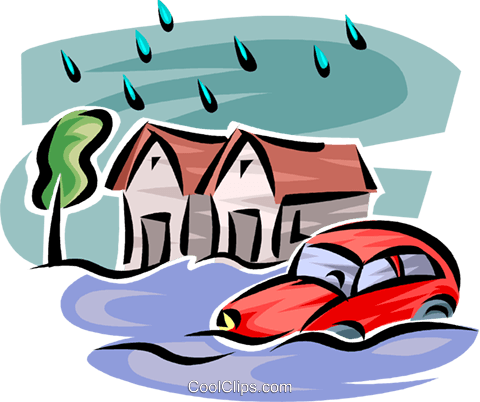 Flooded clipart #7
