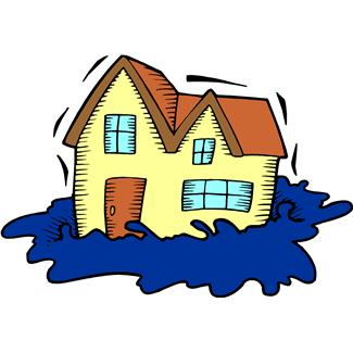 Flooded clipart animated Free Art Clip Flood City