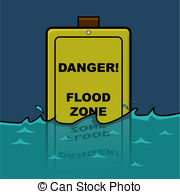 Flooded clipart animated Stock 4 sign  clip