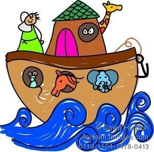 Flood clipart arc Flood cliparts Bible Clipart Noahs