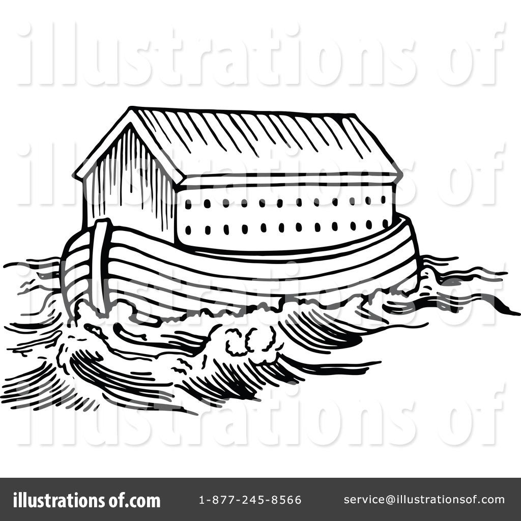 Flood clipart arc Ark #1183300 Royalty Clipart Illustration