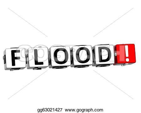 Flood clipart background Gg63021427 Illustrations  flood button