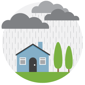 Flooded clipart storm A in a for your