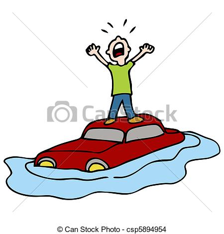 Flooded clipart drawing picture Panda Clipart Clipart Free Car