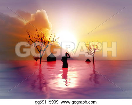 Flooded clipart drawing picture Drawing earthquake climate Clipart to