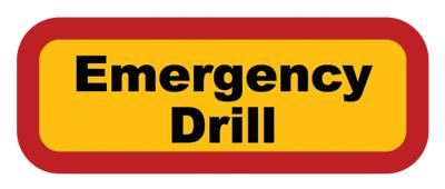 Flooded clipart drill Drill Emergency drill emergency WGRT