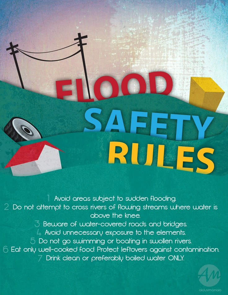 Flood clipart drill Recovery Rules Safety  images