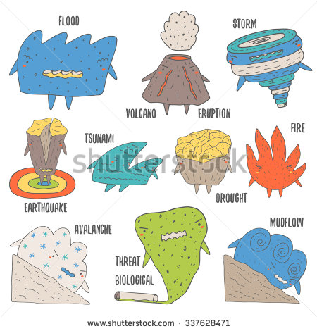 Tsunami clipart tropical storm Storm cataclysm volcano including collection