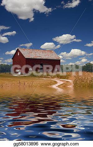 Flooded clipart farmer Clipart Stock Stock Stock GoGraph