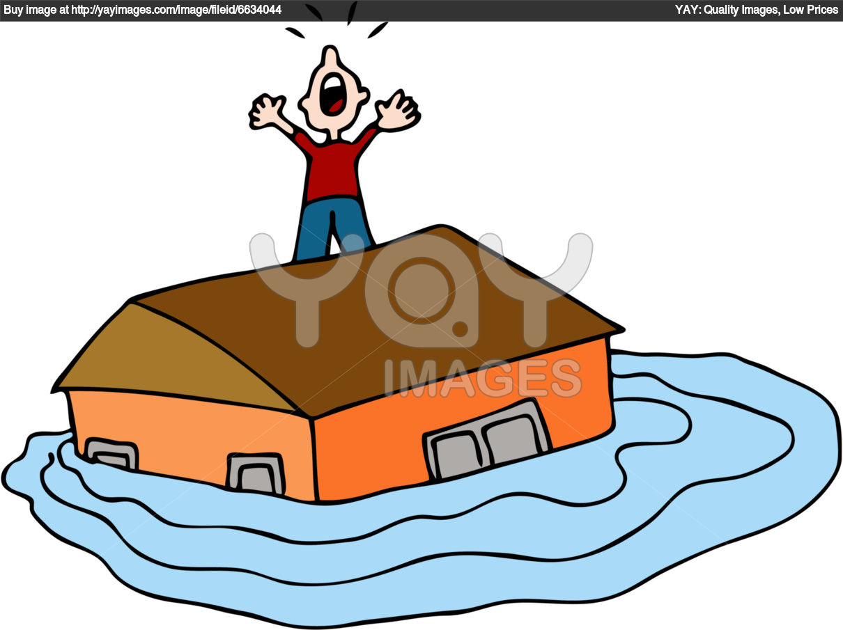 Places clipart flooded #4