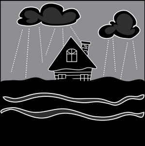 Hosue clipart raining Home during Image in Home