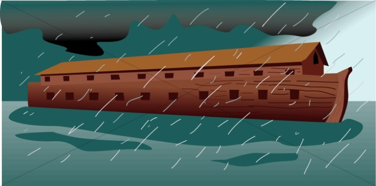 Flood clipart noah and the flood Flood Ark Testament During Noahs