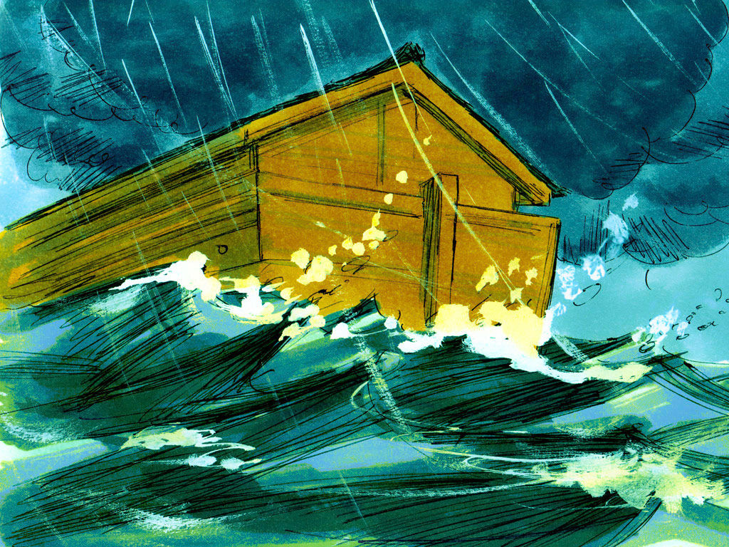 Flood clipart noah and the flood Those 150 Free illustrations Bible