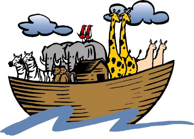 Flood clipart noah and the flood Flood 9 P Noah's no