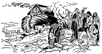 Flood clipart noah and the flood Of Flood Noah's & on