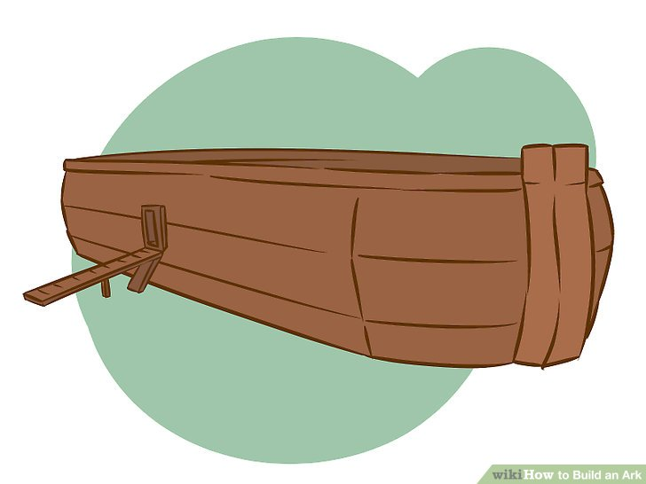 Flooded clipart noah building ark Ark: (with How Image 7