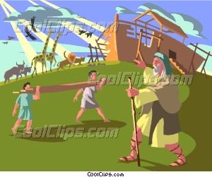 Flood clipart noah building ark Ark Ark Noah Noah art