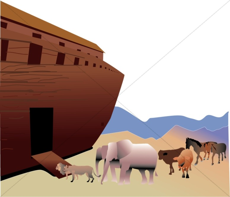 Flood clipart noah building ark Build  The Ark? Noah