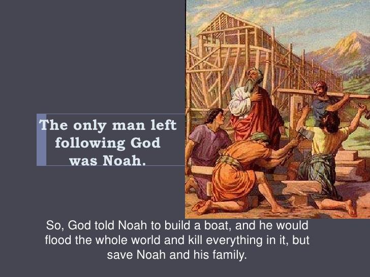 Flood clipart noah building ark  ark Noah's