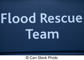 Flood clipart search and rescue Flood The words rescue sign