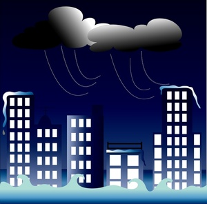 Flooded clipart storm The image clouds  clouds