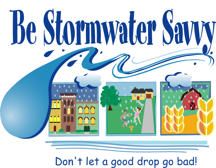 Flood clipart stormwater & Education DEQ logo basic