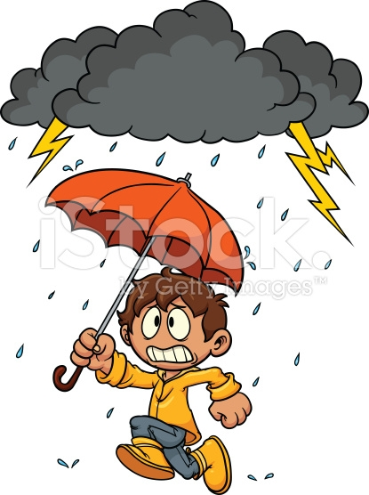 Flood clipart stormy day #7
