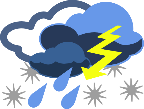 Flood clipart stormy day #5