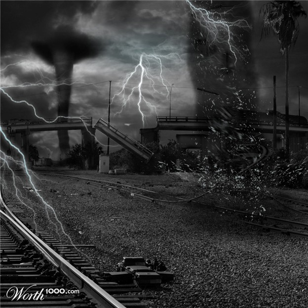 Flood clipart stormy day Severe weather Stormy and Weather
