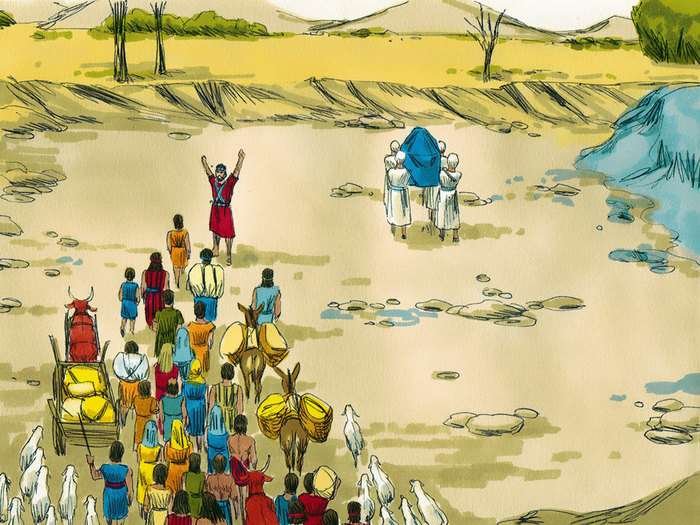 Flooded clipart bible story Bible priests Bible  Free