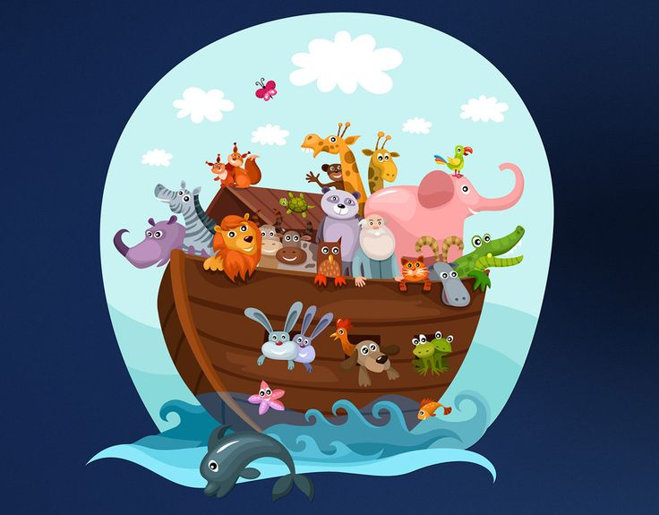 Flooded clipart bible story Removable Pinterest ideas ship flood