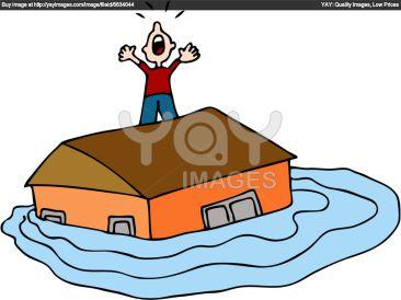 Flooded clipart cartoon Flooded flood – blog work